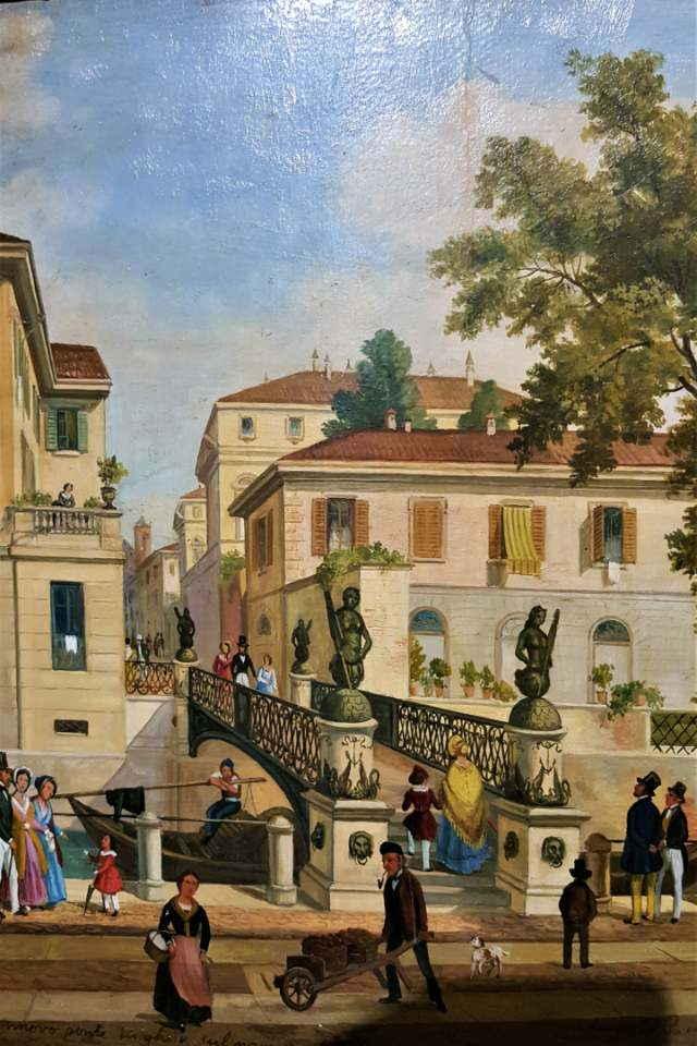 Dipinto di Amanzia Guerrilot Ponte San Damiano