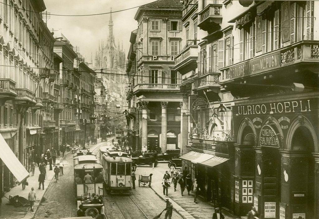 Corso Vittorio Emanuele II nel 1890