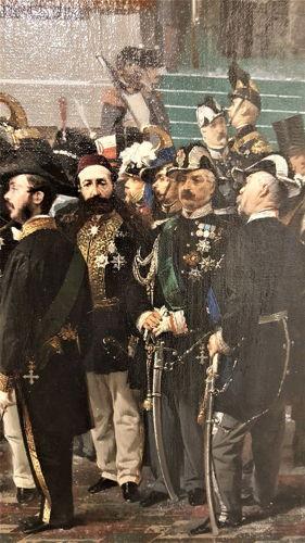 Domenico Induni - Vittorio Emanuele presenzia