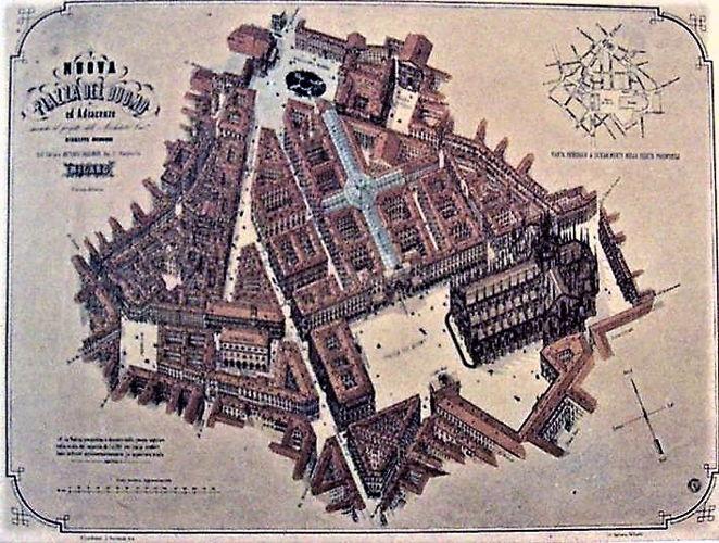 Milano Piazza Duomo Progetto Mengoni