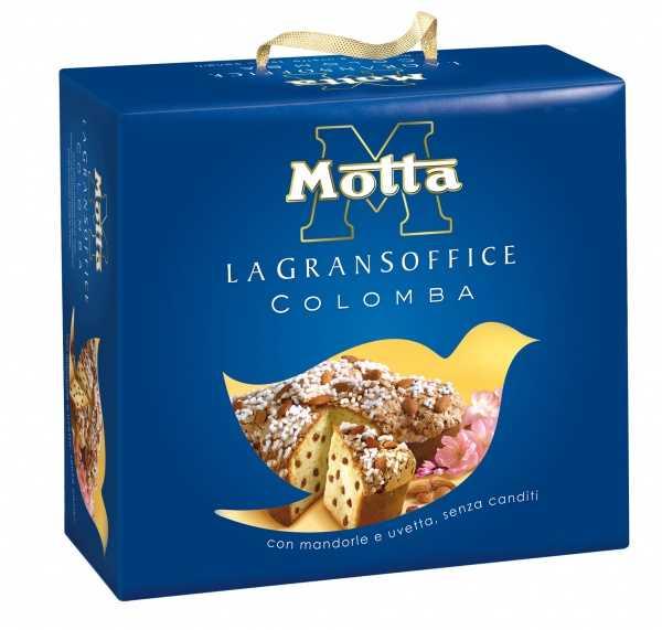 """La confezione della colomba """"Motta"""""""