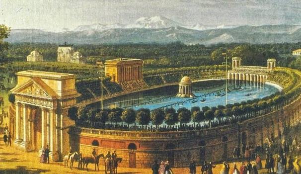 Arena civica allagata