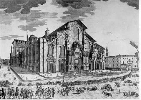 Il Duomo agli inizi del 1700
