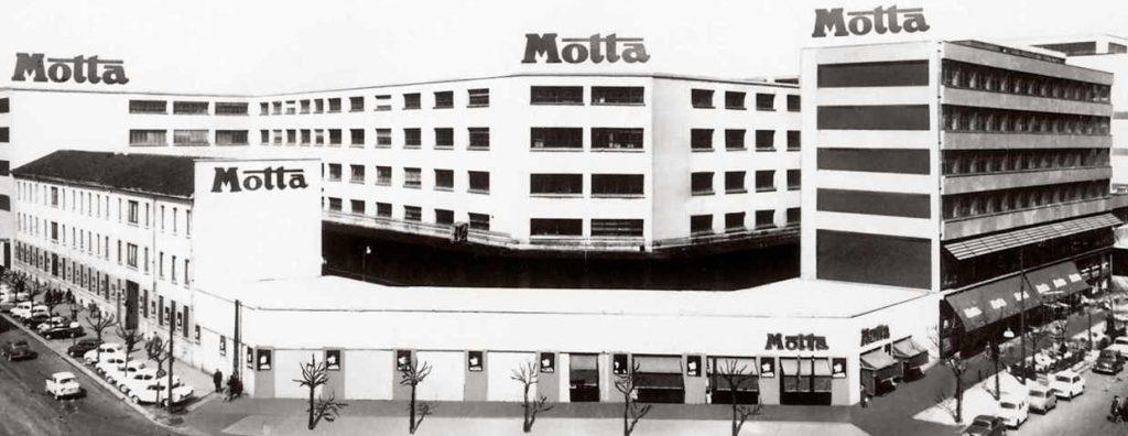 """Lo stabilimento """"Motta"""" di viale Corsica"""