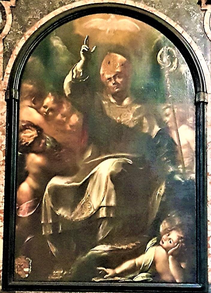 Gloria di San Carlo Borromeo di Giulio Cesare Procaccini (1610)