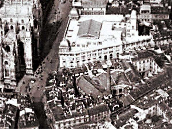 Centrale di Santa Radegonda (visione aerea)