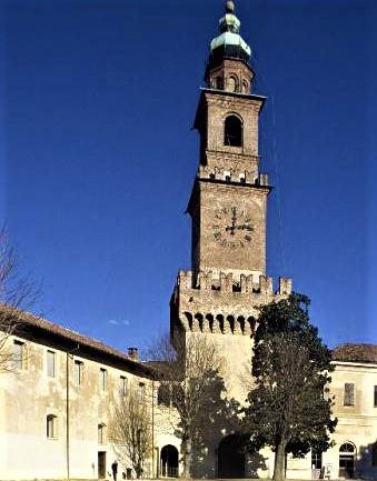 Torre del Castello di Vigevano (Bramante)