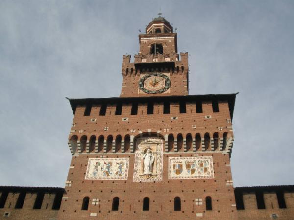 La Torre del Filarete (costruita da Luca Beltrami)