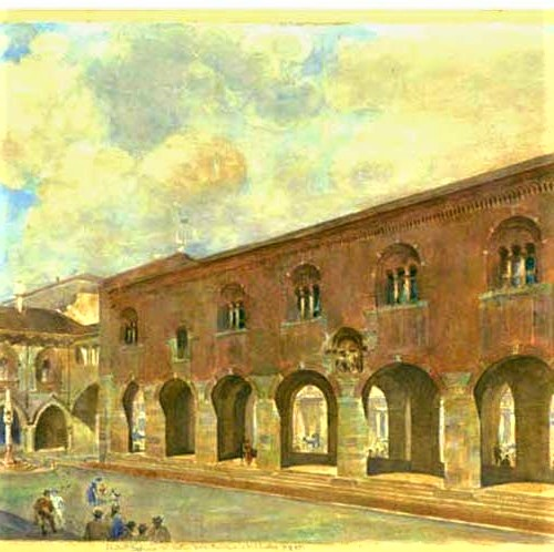 Palazzo della Ragione dopo i restauri del 1600