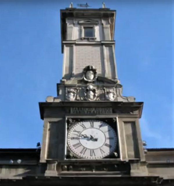 L'orologio della Torre Civica