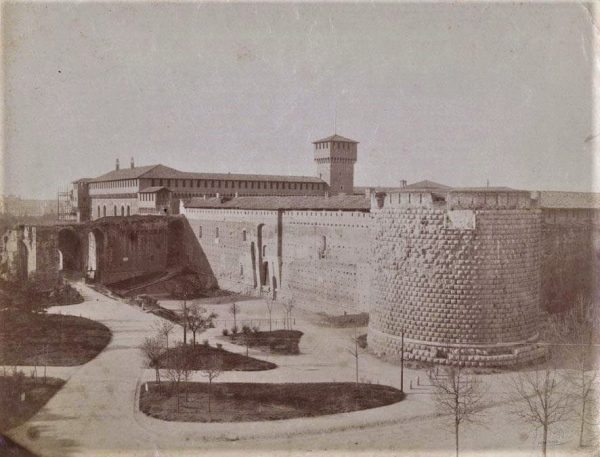 il castello prima dei restauri