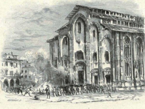 Duomo di Milano nel 1600