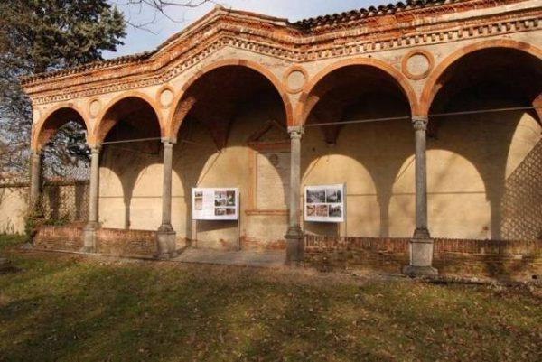 Villa Bagatti-Valsecchi (Varedo) - Tratto di portico del Lazzaretto