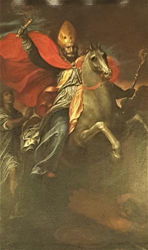 Quadro del Figino - Sant'Ambrogio (battaglia dI Parabiago)