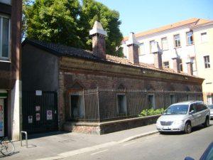 Lazzaretto - Tratto conservato in via San Gregorio - Chiesa Russo-Ortodossa
