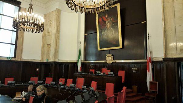Palazzo Marino - Sala del Consiglio