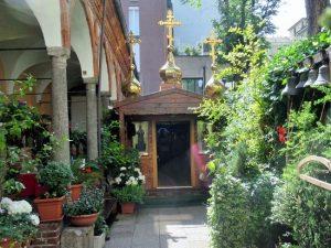 Lazzaretto - Porzione di portico con 5 stanze e la Chiesetta Russo-Ortodossa
