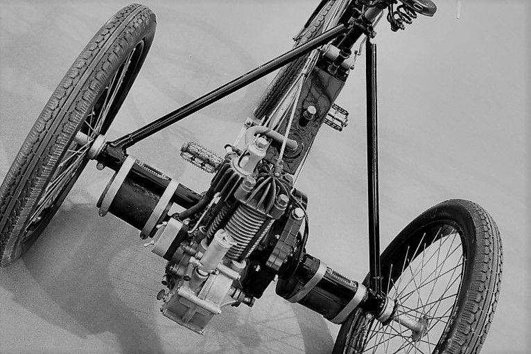 triciclo Bianchi con motore De Dion Bouton 1898