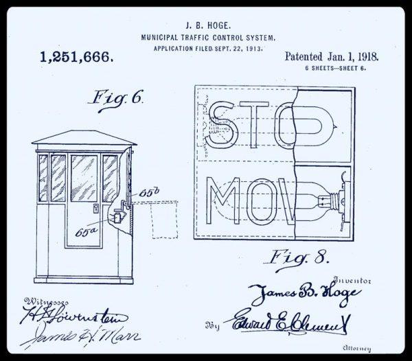 J. B. Hoge Dettaglio semaforo STOP/MOVE