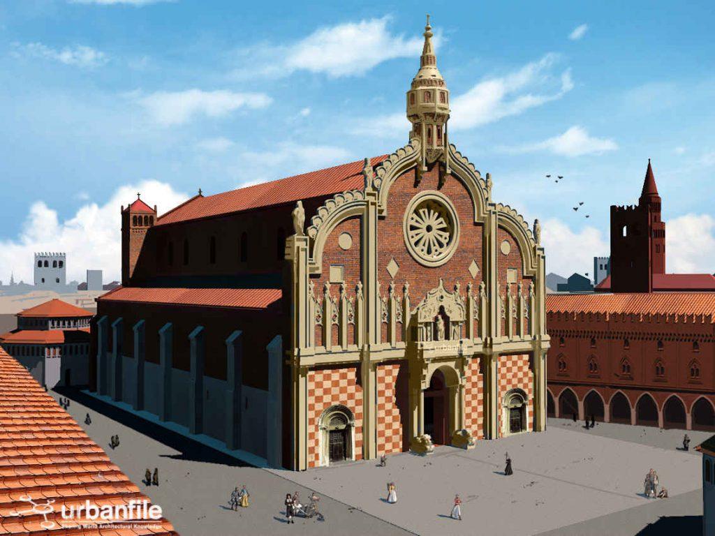 Facciata Cattedrale di Santa Maria Maggiore - Milano