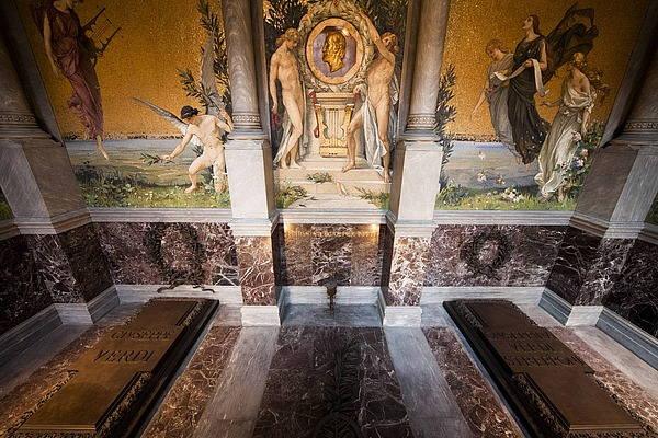 Cripta Verdi-Strepponi presso la Casa di Riposo
