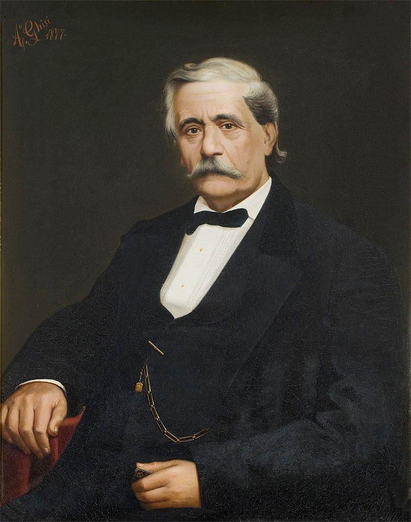 Antonio Barezzi, suocero di Verdi
