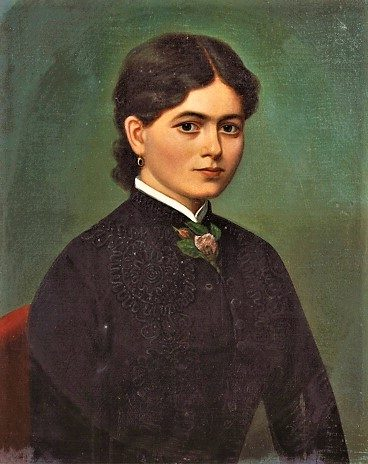 Elisa Haberlin (moglie di Ulrico Hoepli)