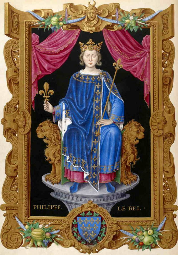 Filippo IV il Bello. Re di Francia