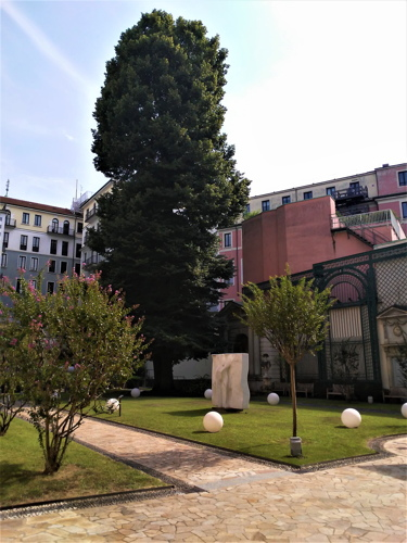 Giardino di Casa Manzoni in via Morone