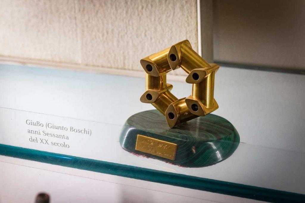 Giunto Boschi GiuBo. Premio in oro brevetto dell'Ing. Antonio Boschi