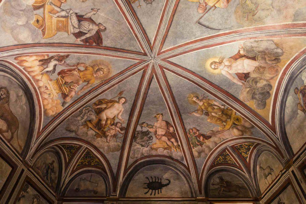Casa degli Atellani - Volta della Sala dello Zodiaco