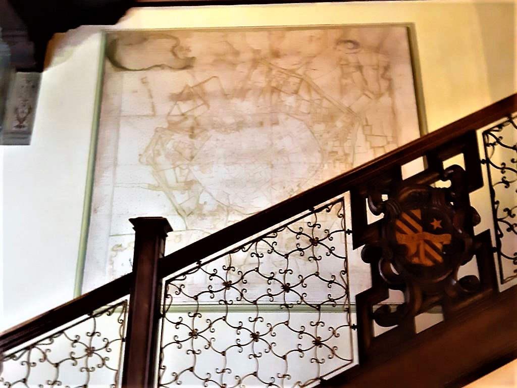 Casa degli Atellani - Scalone d'onore