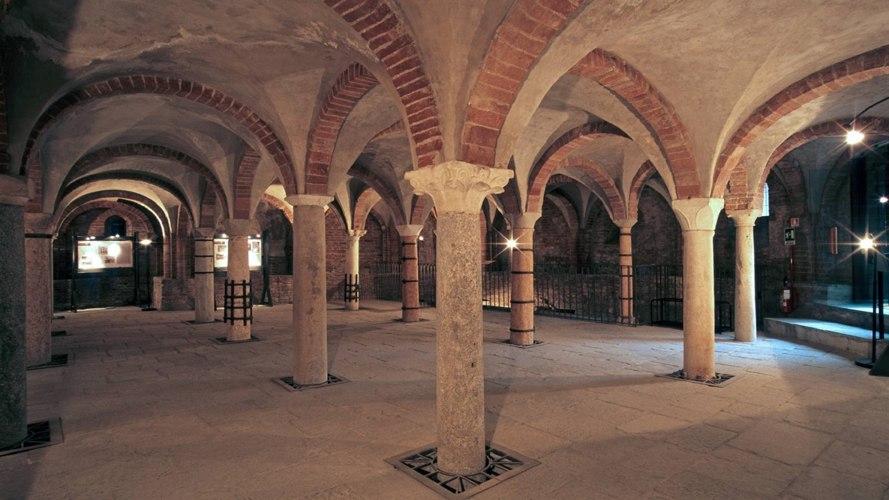 La cripta paleocristiana di San Giovanni in Conca (V sec.)