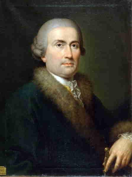 Ritratto Giuseppe Piermarini (Martin Knoler) Seconda metà del 700. Museo della Scala di Milan