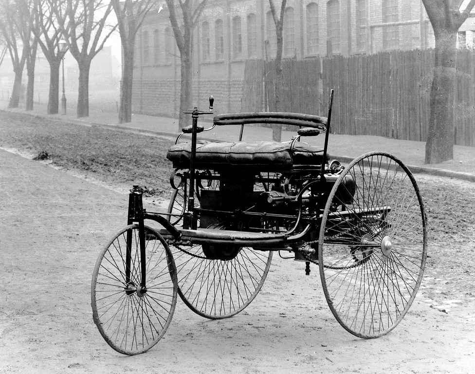Patent Motorwagen ideata da Benz nel1886