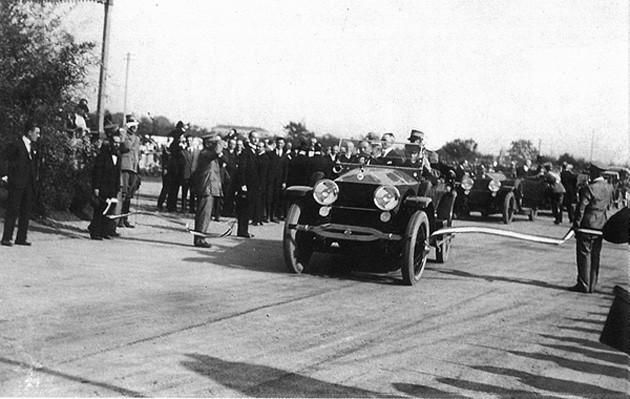 Inaugurazione della Milano-Varese il 21 settembre 1924