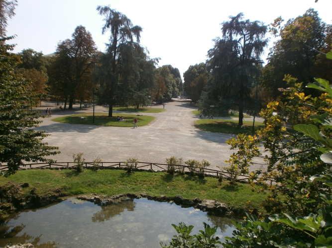 Giardini pubblici vialone interno