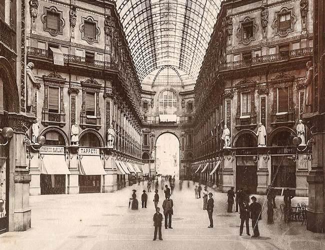 La Galleria tra il 1877 e il 1879