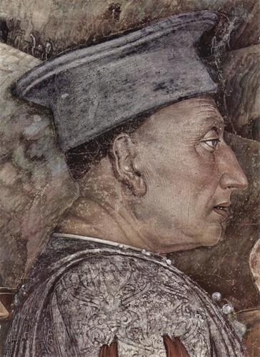 Ludovico III Gonzaga-(quadro di Andrea Mantegna)