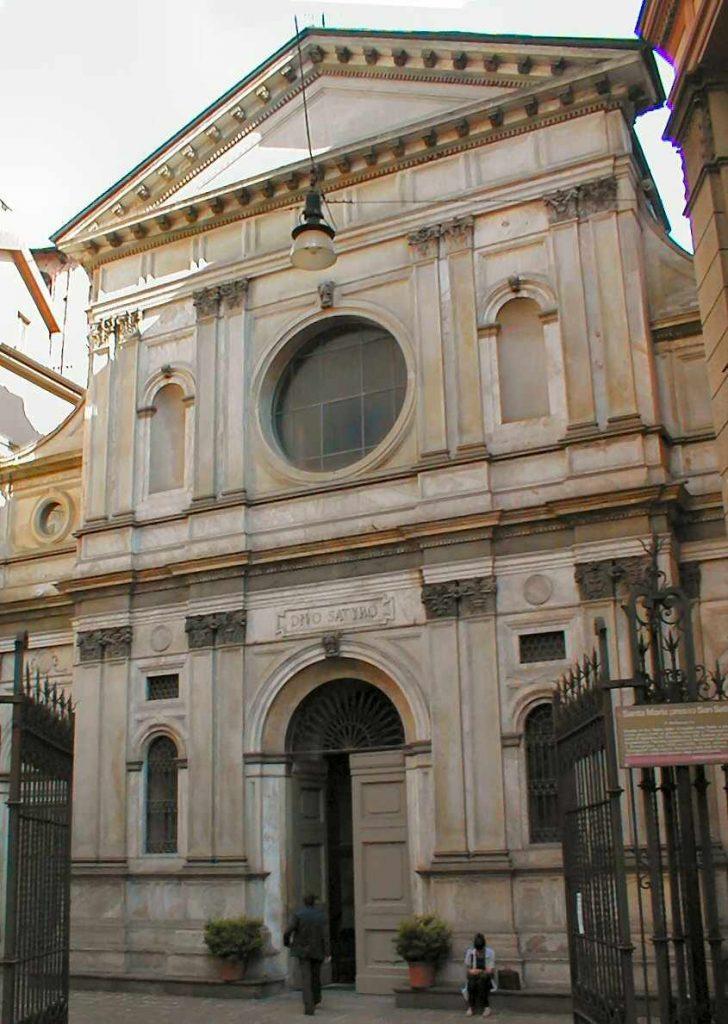 Facciata di Santa Maria presso San Satiro