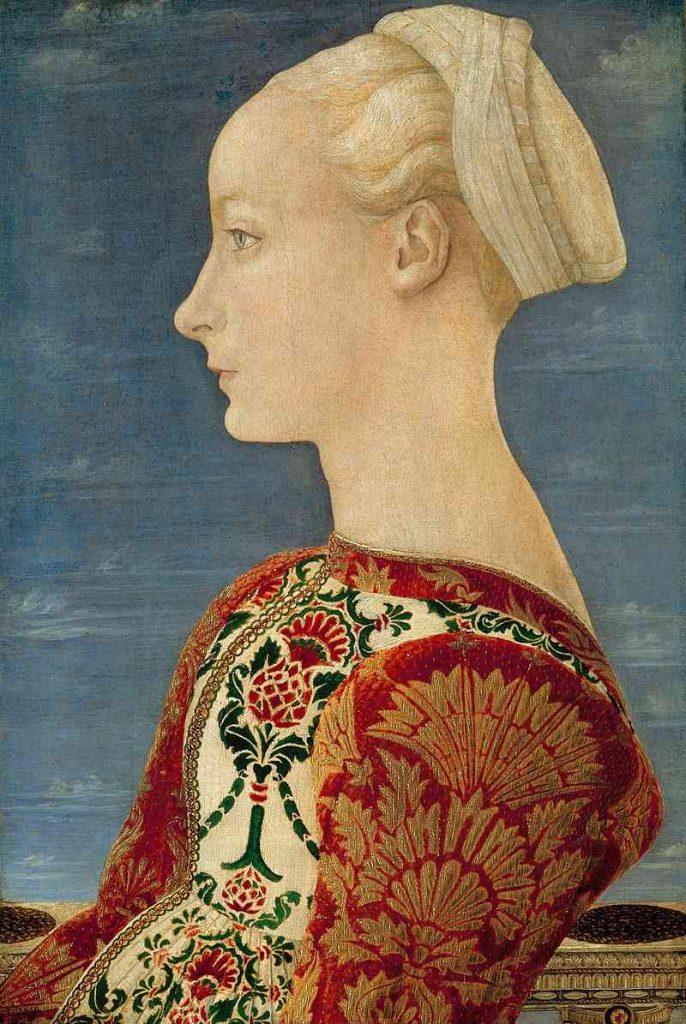 ritratto di Lucrezia Landriani (Piero del Pollaiuolo)