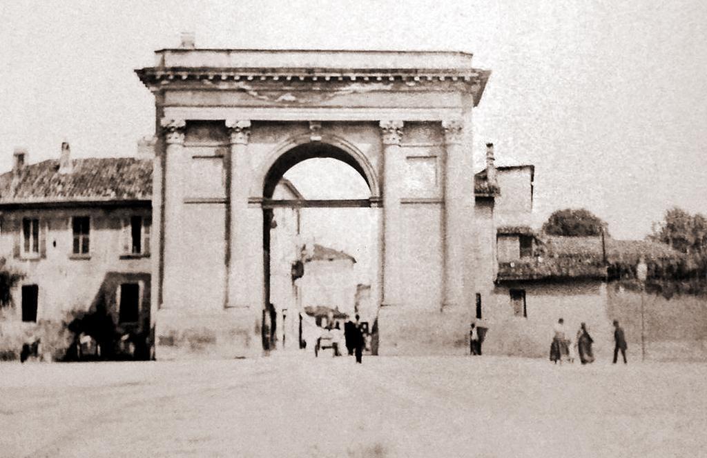Porta Magenta nel 1885