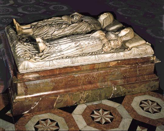 Cenotafio di Elisabetta d'Este e Ludovico Il Moro