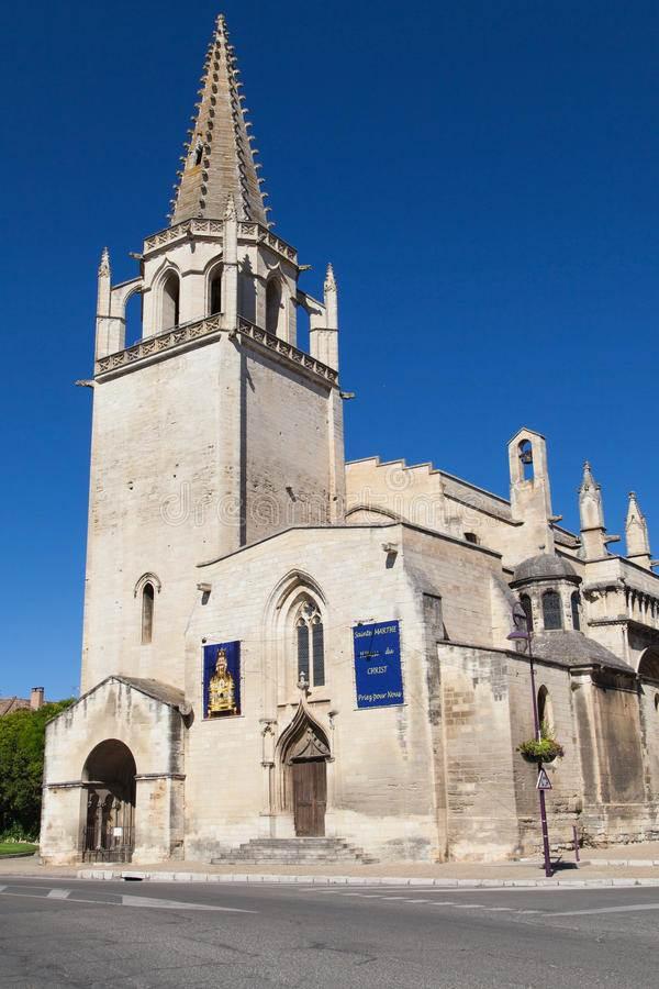 Chiesa di tarascona (in Provenza) - Qui è sepolto Ludovico Il Moro