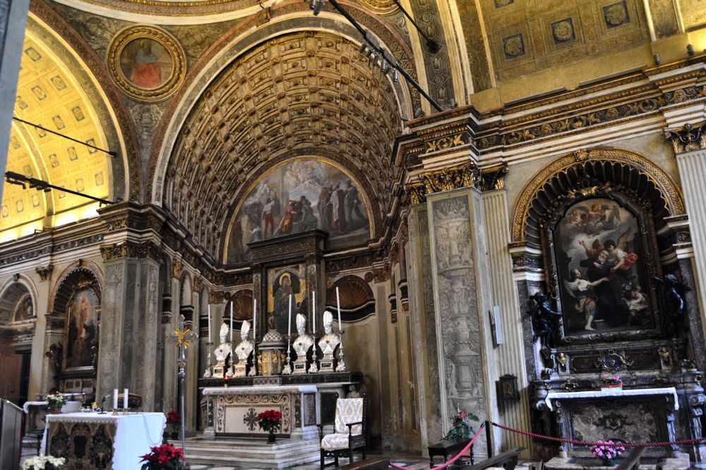 L'abside inesistente della chiesa di San Satiro