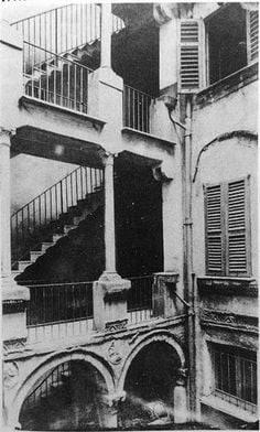 Uno dei cortili interni della Malastalla