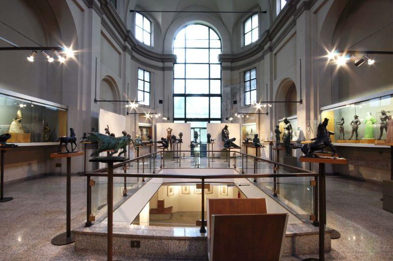 Interno Civico museo-studio Francesco Messina