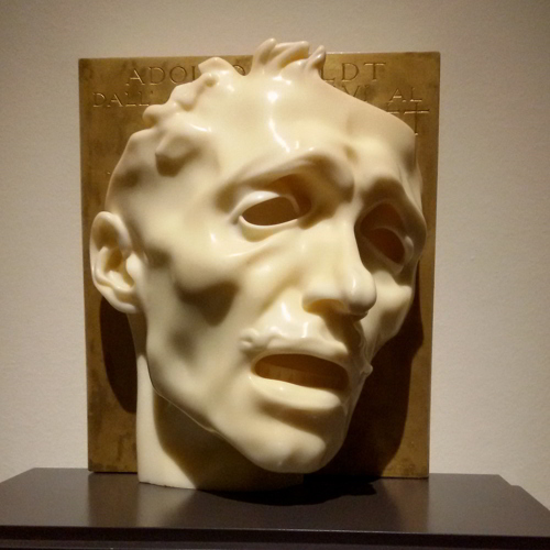 Maschera del dolore - autoritratto
