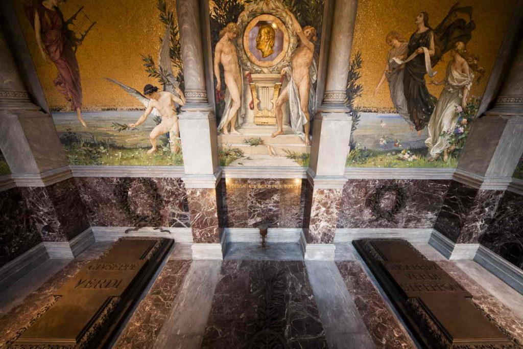 Casa Verdi -. La cripta
