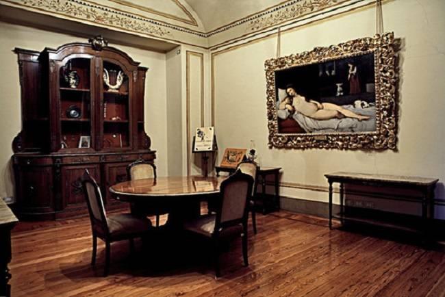 Casa Verdi - sala da pranzo del Maestro (proveniente dalla casa di Genova)